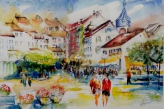 Schiffländi Landsgemeindeplatz