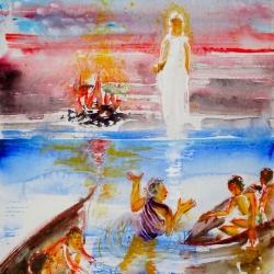 Erscheinung Jesu am See Genezareth