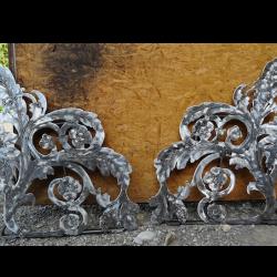 Blumenornamente Metallbleche