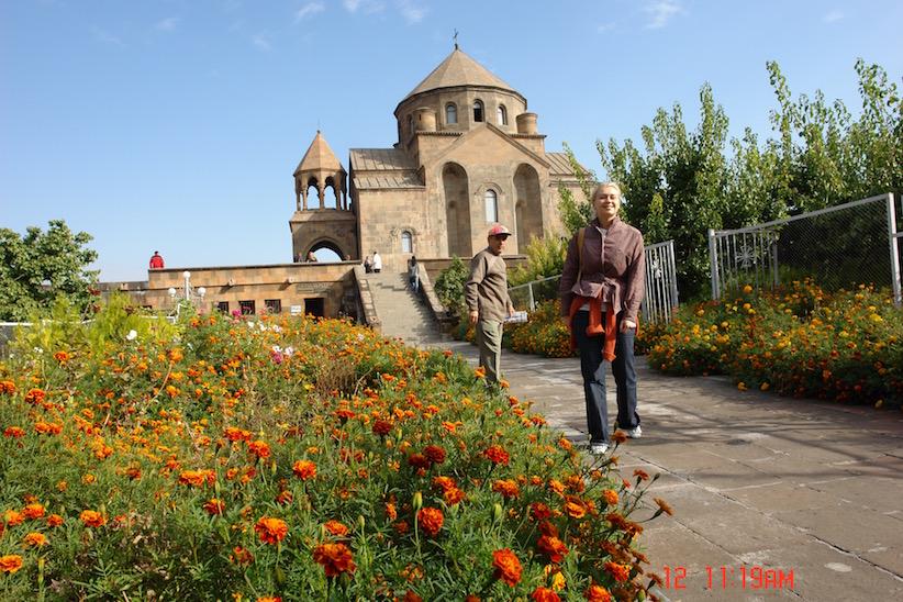 Der Besuch der Katherdrale Etschmiadsin in Armenien
