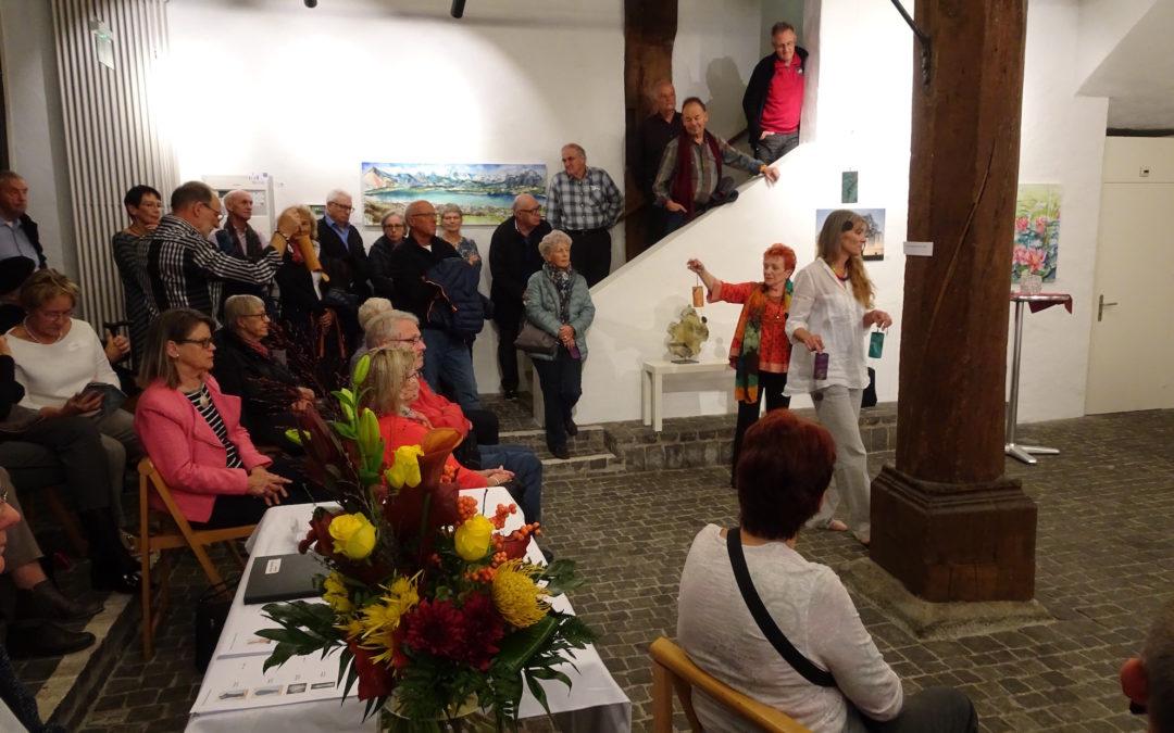 Ausstellung 7.-11. Nov. 2018 in Zug