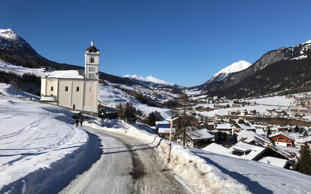 Schneewanderung Savognin 15.2.2019